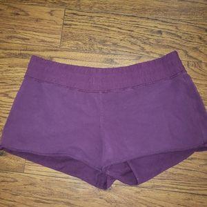 Lululemon sweatpant material shorts